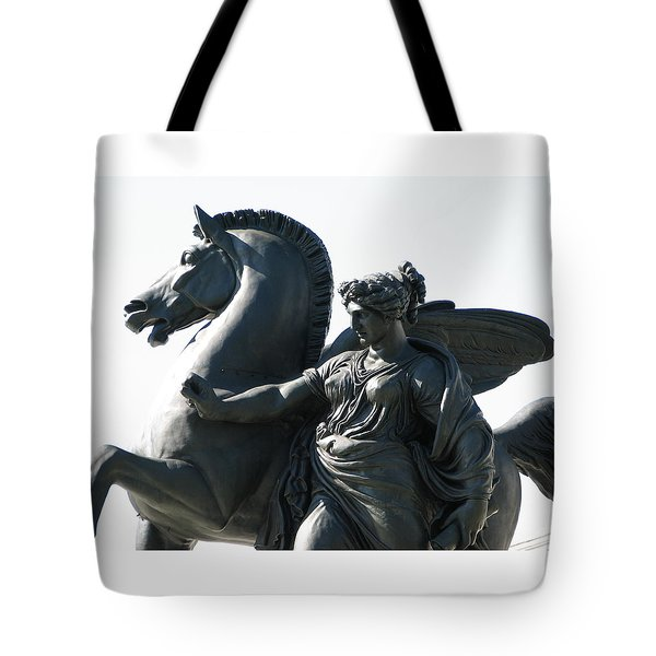 Pegasus Tote Bag by Christopher Woods