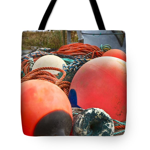 Peggy's Cove 16 Tote Bag by Betsy Knapp