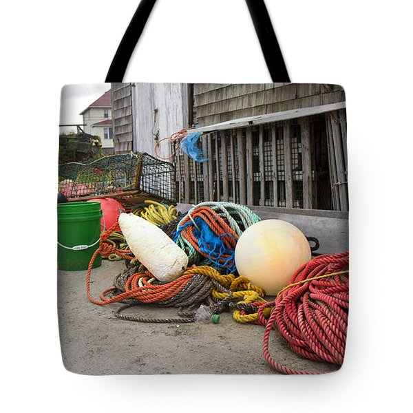 Peggy's Cove 21 Tote Bag by Betsy Knapp