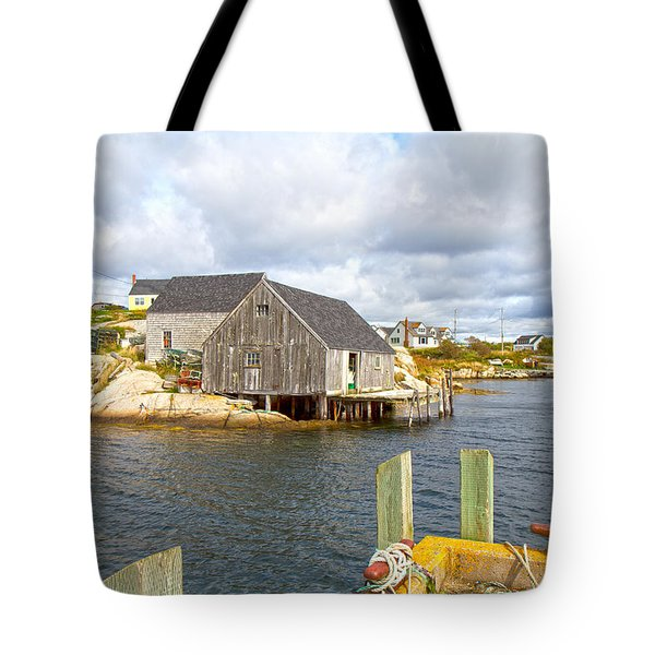 Peggy's Cove 6 Tote Bag by Betsy Knapp