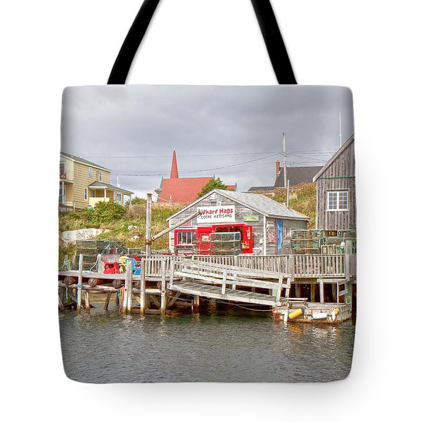Peggy's Cove 7 Tote Bag by Betsy Knapp