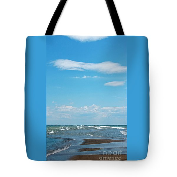 Pelee Tote Bag by Ann Horn