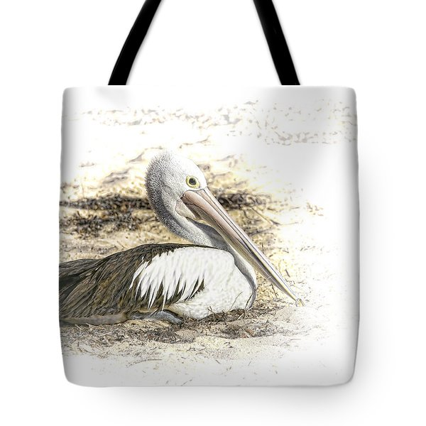 Pelican Tote Bag by Holly Kempe