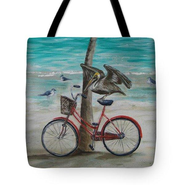 Pelican Landing Tote Bag