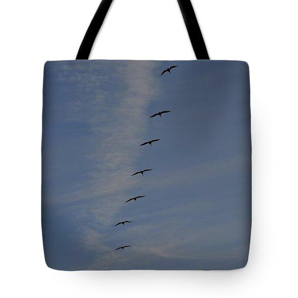 Pelican Line Tote Bag
