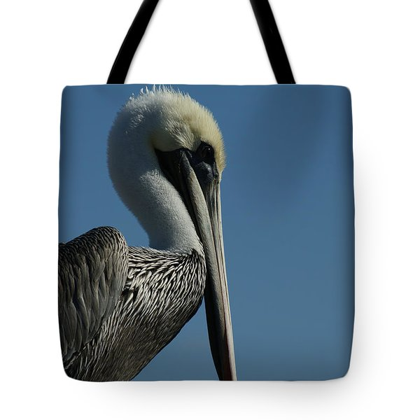 Pelican Profile 2 Tote Bag by Ernie Echols
