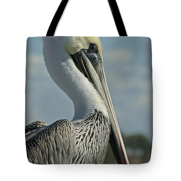 Pelican Profile 3 Tote Bag by Ernie Echols