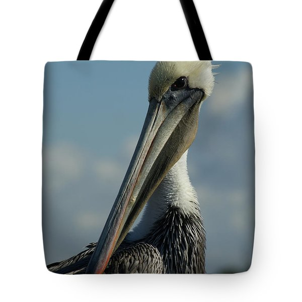 Pelican Profile Tote Bag by Ernie Echols