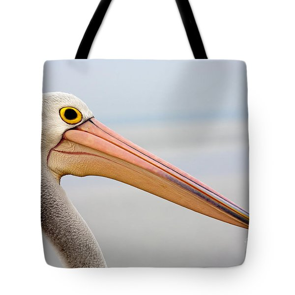 Pelican Profile Tote Bag by Mike  Dawson