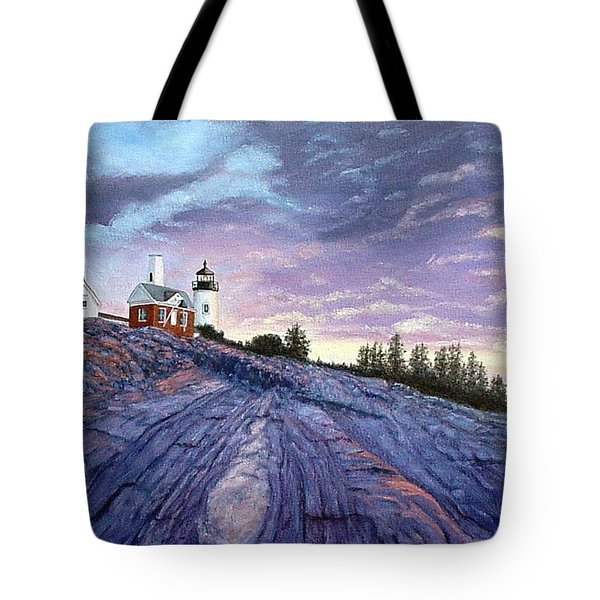 Pemaquid Point Dawn Tote Bag