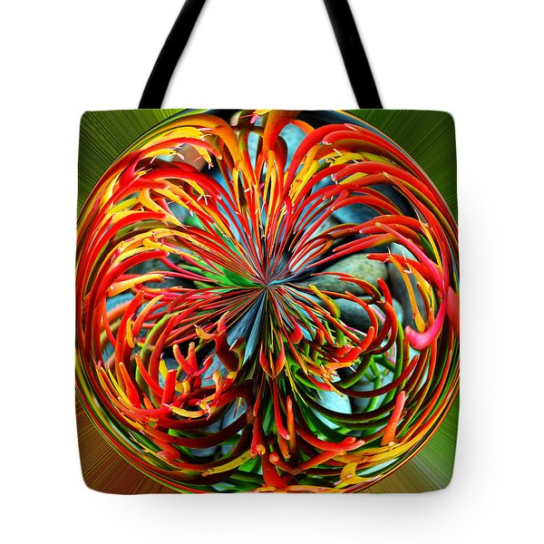 Pencil Tree Ball Tote Bag