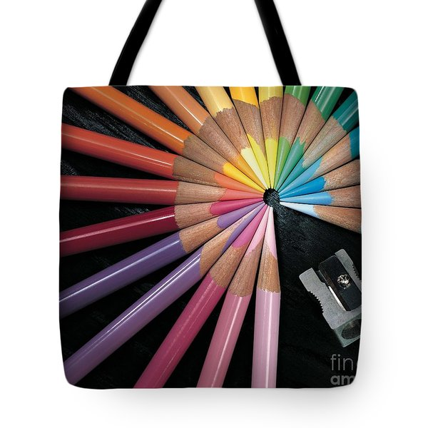 Pencils Tote Bag by Gary Gingrich Galleries