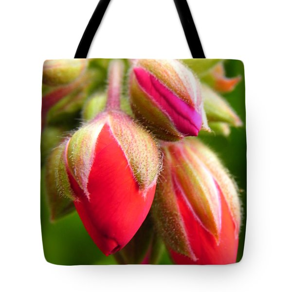 Tote Bag featuring the photograph Pending Beauty by Deb Halloran