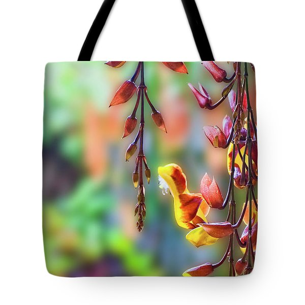 Pending Flowers Tote Bag