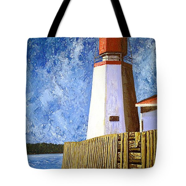 Pendlebury Lighthouse Tote Bag