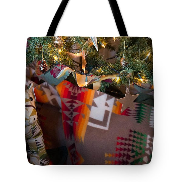 Pendleton Christmas Tote Bag by Patricia Babbitt