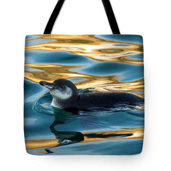 Penguin Watercolor 2 Tote Bag