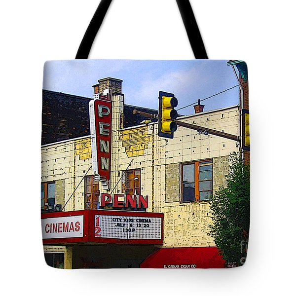 Penn Cinemas In Ohiopyle Tote Bag by Nina Silver