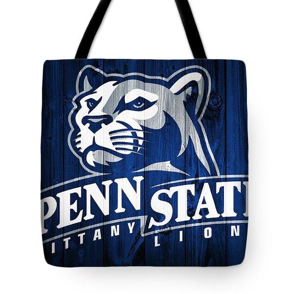 Penn State Barn Door Tote Bag by Dan Sproul