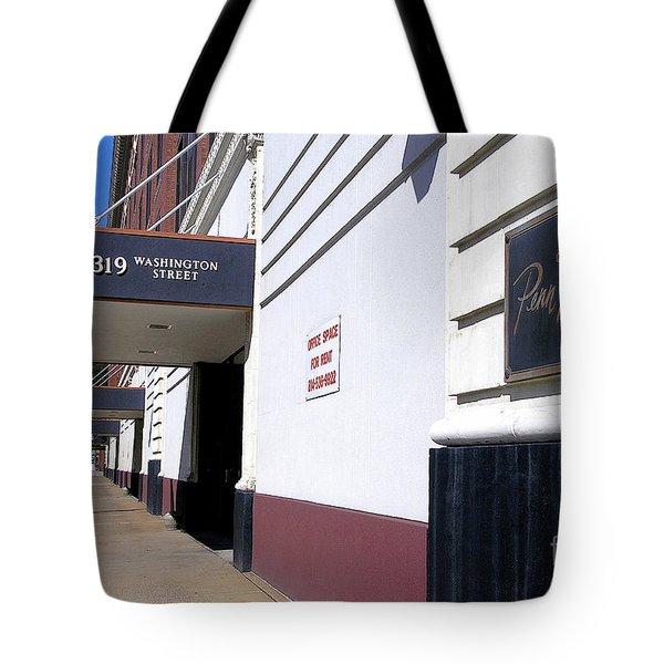 Penn Traffic Bldg - Johnstown Pa Tote Bag