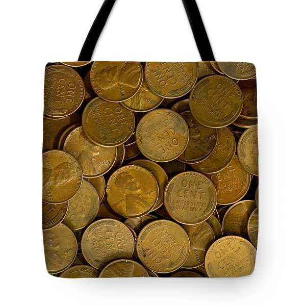 Pennies Tote Bag