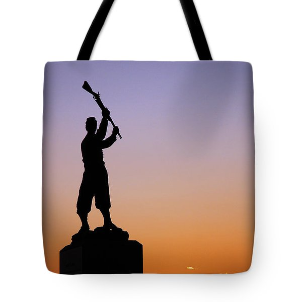 Pennsylvania 72nd Memorial Tote Bag by James Kirkikis
