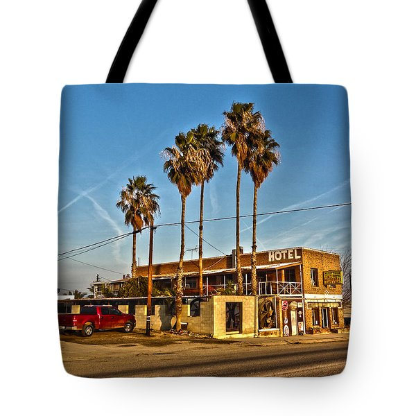 Tote Bag featuring the photograph Penny Bar Mckittrick California by Lanita Williams