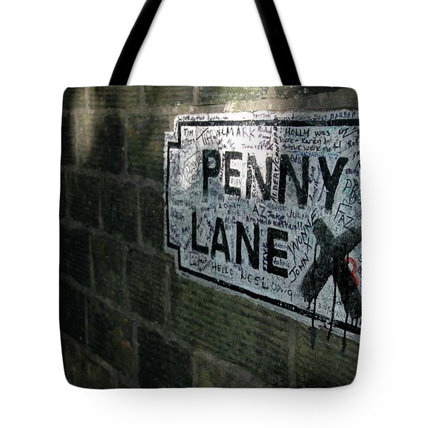 Penny Lane Tote Bag by Jonah  Anderson