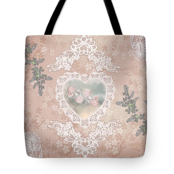 Penny Postcard Passionate Tote Bag