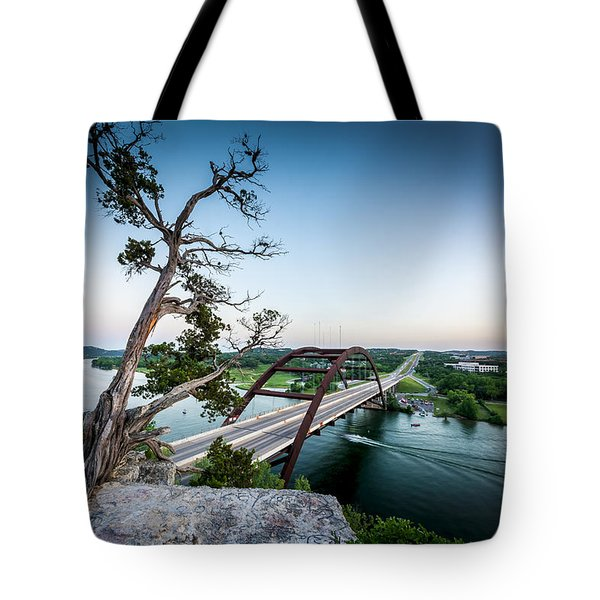 Pennybacker Bridge Austin Tote Bag