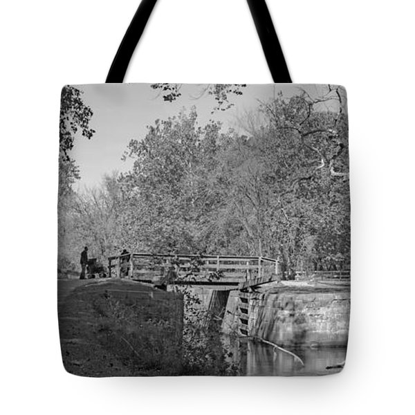 Pennyfield Lock Chesapeake And Ohio Canal Tote Bag