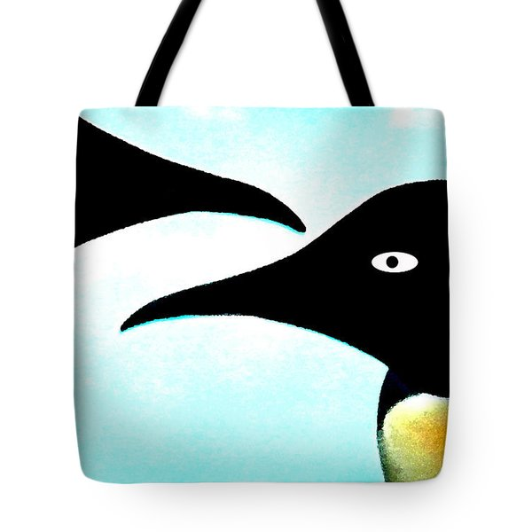 Penquin Love Tote Bag