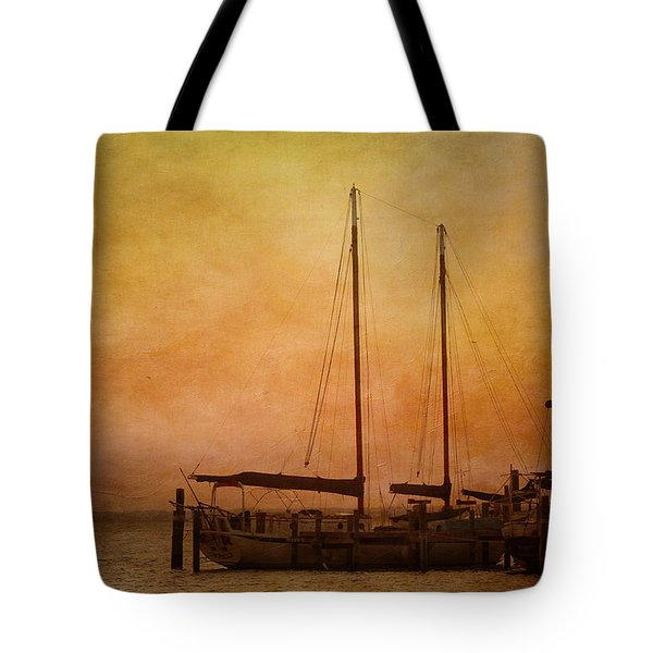 Pensacola Harbor Tote Bag