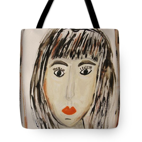 Pensive M.  Tote Bag by Mary Carol Williams