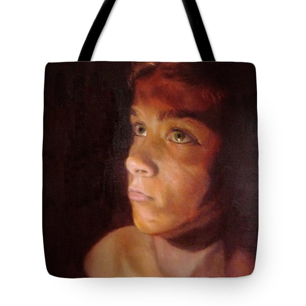 Penumbra Tote Bag by Cherise Foster