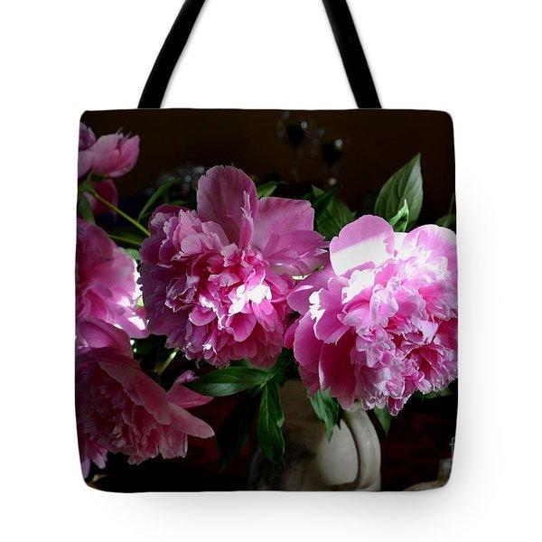 Peonies2 Tote Bag