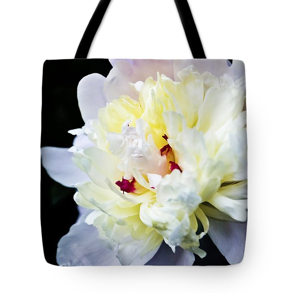 Peony Evening Tote Bag
