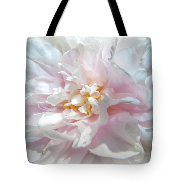 Tote Bag featuring the photograph Peony by Geraldine Alexander