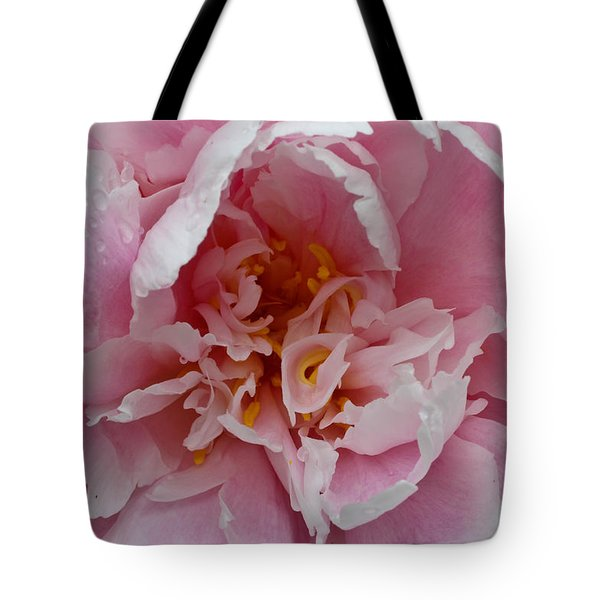 Tote Bag featuring the photograph Peony Love by Julie Andel