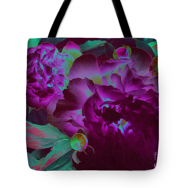 Peony Passion Tote Bag by First Star Art