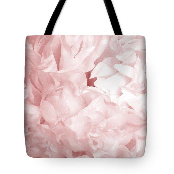 Peony Pink Beauty Tote Bag