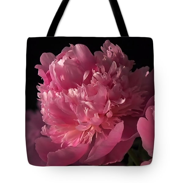 Tote Bag featuring the photograph Peony by Rona Black