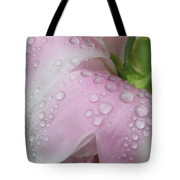 Peony Tears Tote Bag by Barbara S Nickerson