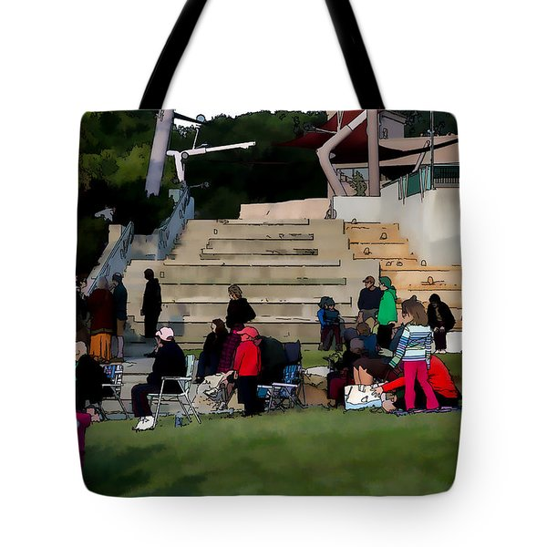 People In The Park Tote Bag