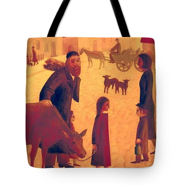 People Of Derbent Tote Bag