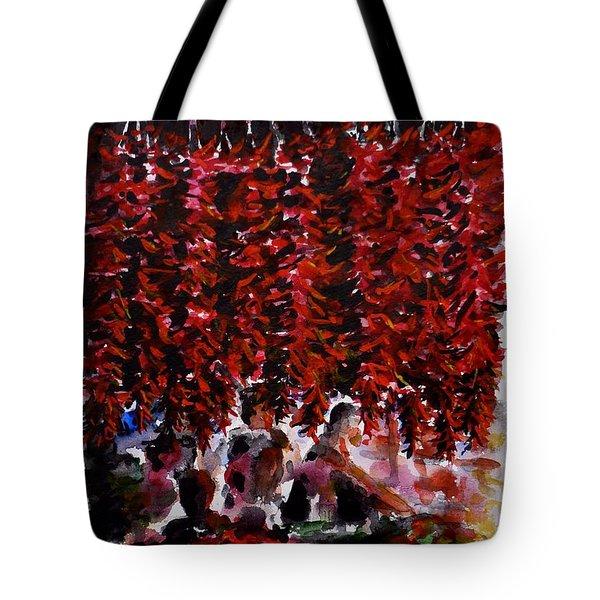 Pepper Tote Bag by Zaira Dzhaubaeva