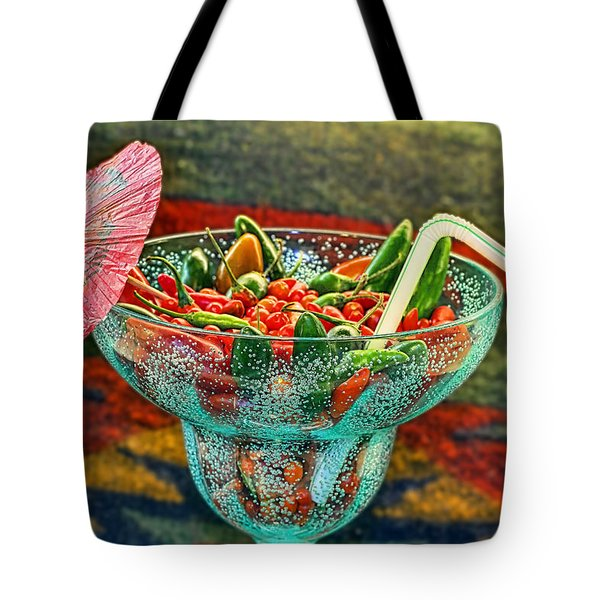 Tote Bag featuring the photograph Pepperita by Gary Holmes