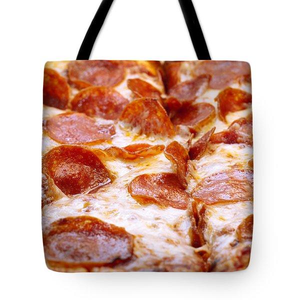 Pepperoni Pizza 1 - Pizzeria - Pizza Shoppe Tote Bag