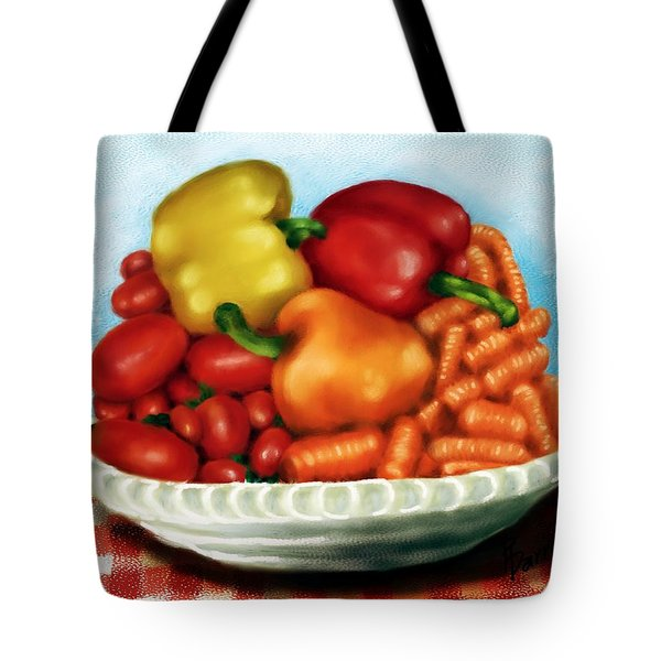 Peppers And Such Tote Bag