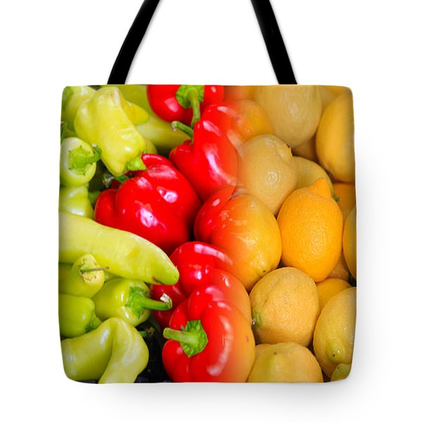 Peppers To Pucker Tote Bag